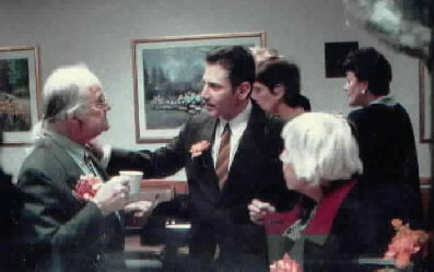 Photo of Charles di Cagno with Dr. Zane